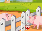 Pig Escape From Farm