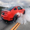 Smoky Ford Mustang