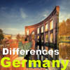 Differences: Cityscape of Germany