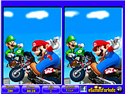 Mario - 6 Differences