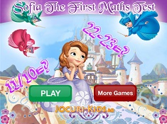 Sofia The First Maths Test